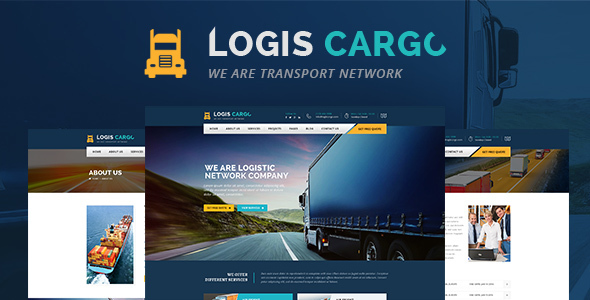 Logis Cargo - Logistics & Transport HTML Template - Business Corporate