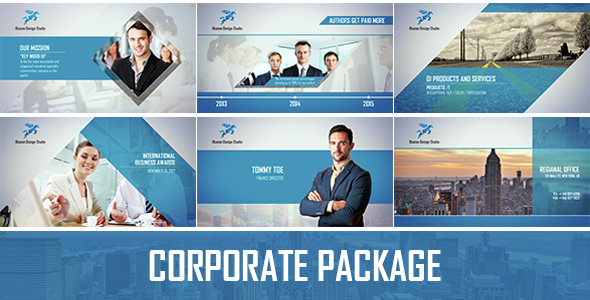 corporate packagecyndyk_ids | videohive, Powerpoint templates