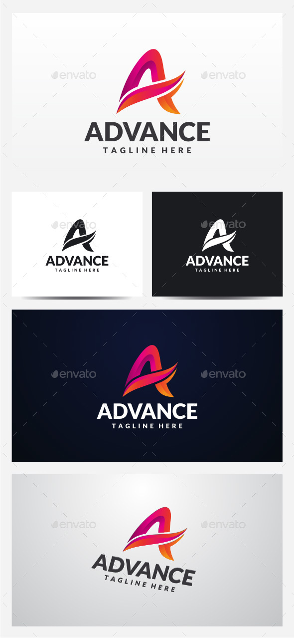Advance Letter A Logo