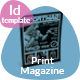 Sport Magazine Template Issue Two - GraphicRiver Item for Sale