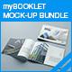 myBooklet Mock-up Bundle - GraphicRiver Item for Sale