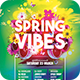 Spring Vibes Flyer - GraphicRiver Item for Sale