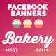 Facebook Banners - Bakery - GraphicRiver Item for Sale