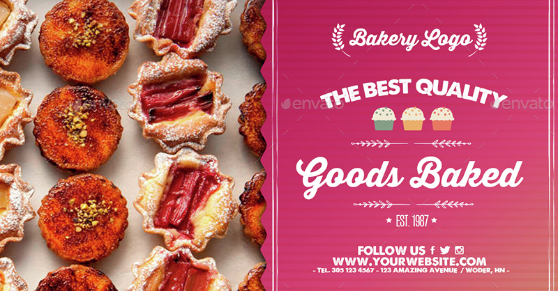 Facebook Banners - Bakery