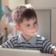 Cute Little Boy Use Laptop And Credit Card - VideoHive Item for Sale