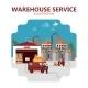 Warehouse Service Illustration