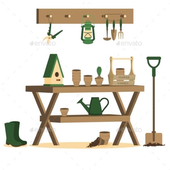 Gardening Tools  - Flowers & Plants Nature