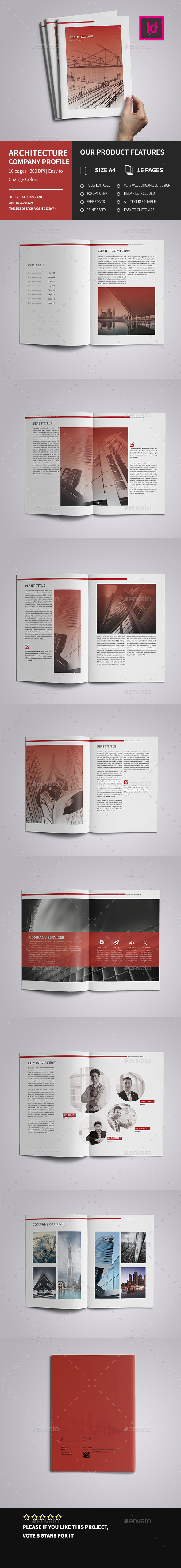 A4 Corporate Architecture Brochure - Corporate Brochures