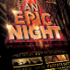 An Epic Night Poster Template - GraphicRiver Item for Sale