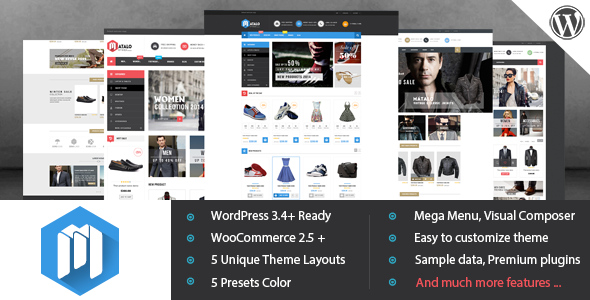 VG Matalo – eCommerce WordPress Theme for Online Store