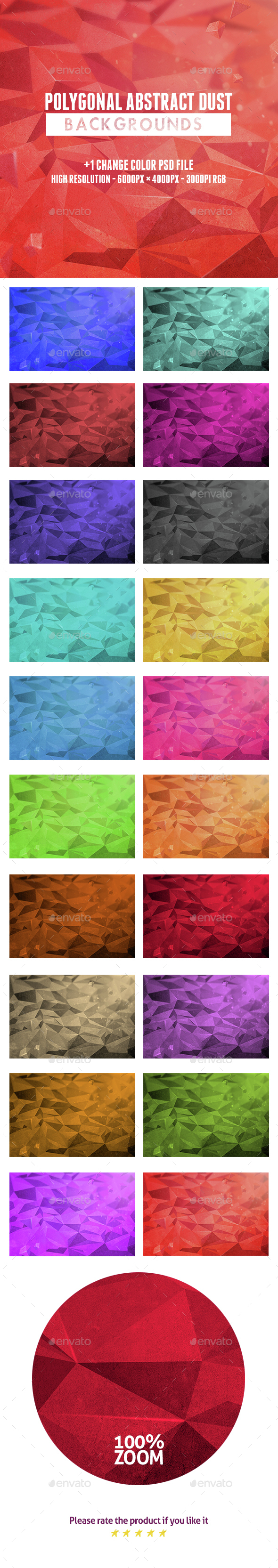Polygonal Abstract Dust Backgrounds - Backgrounds Graphics