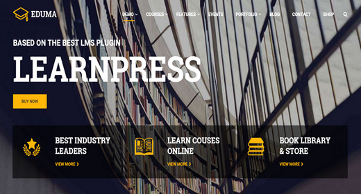 WordPress Themes for Education