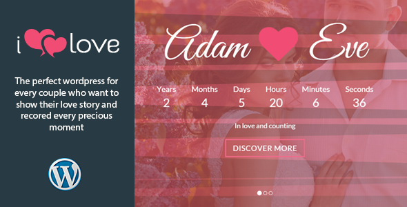 ilove - Responsive Wedding Event WordPress Theme - Wedding WordPress