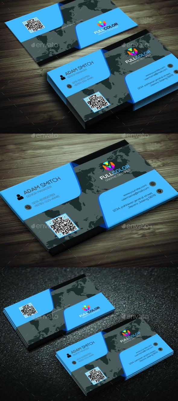 Simple Creative Business Card - Corporate Business Cards