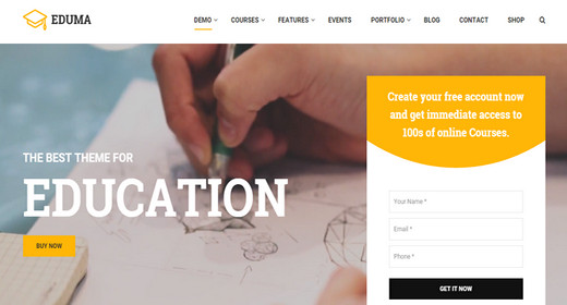 WordPress Theme Education