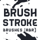 Brush Stroke Brushes - GraphicRiver Item for Sale