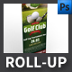 Golf Club Roll-up Template - GraphicRiver Item for Sale