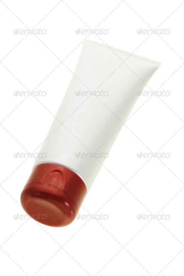 Cosmetic tube - Stock Photo - Images