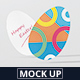 Easter Egg Flyer Mock-Up - GraphicRiver Item for Sale