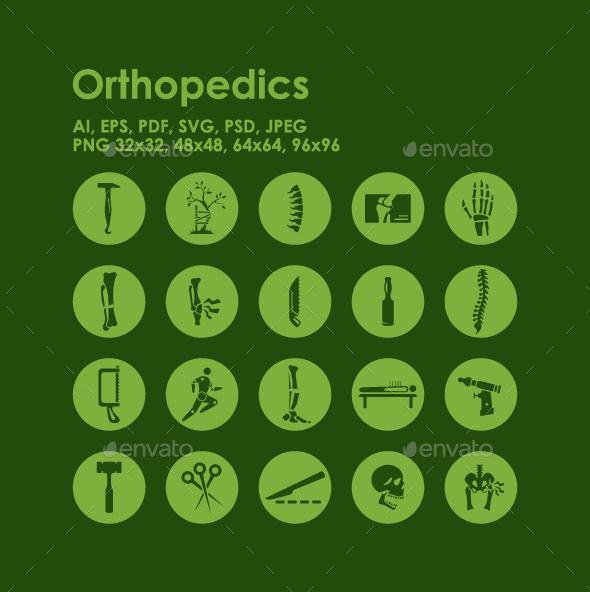 20 Orthopedics icons - Miscellaneous Icons