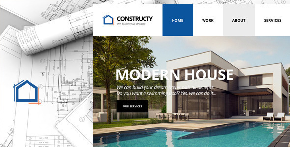 Constructy - Construction Business Building Theme - Corporate Site Templates