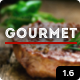 Gourmet - Restaurant Bar Hotel WordPress Theme Nulled