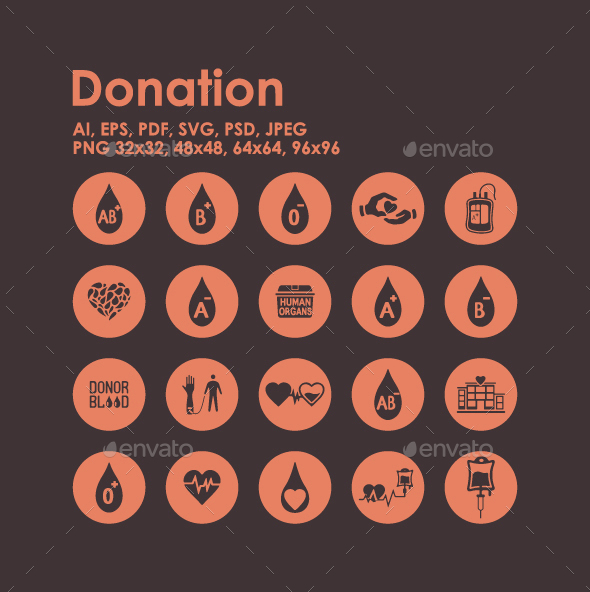 20 Donation icons - Miscellaneous Icons