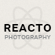 Reacto Photography / WordPress Portfolio Theme for Creatives - ThemeForest Item for Sale