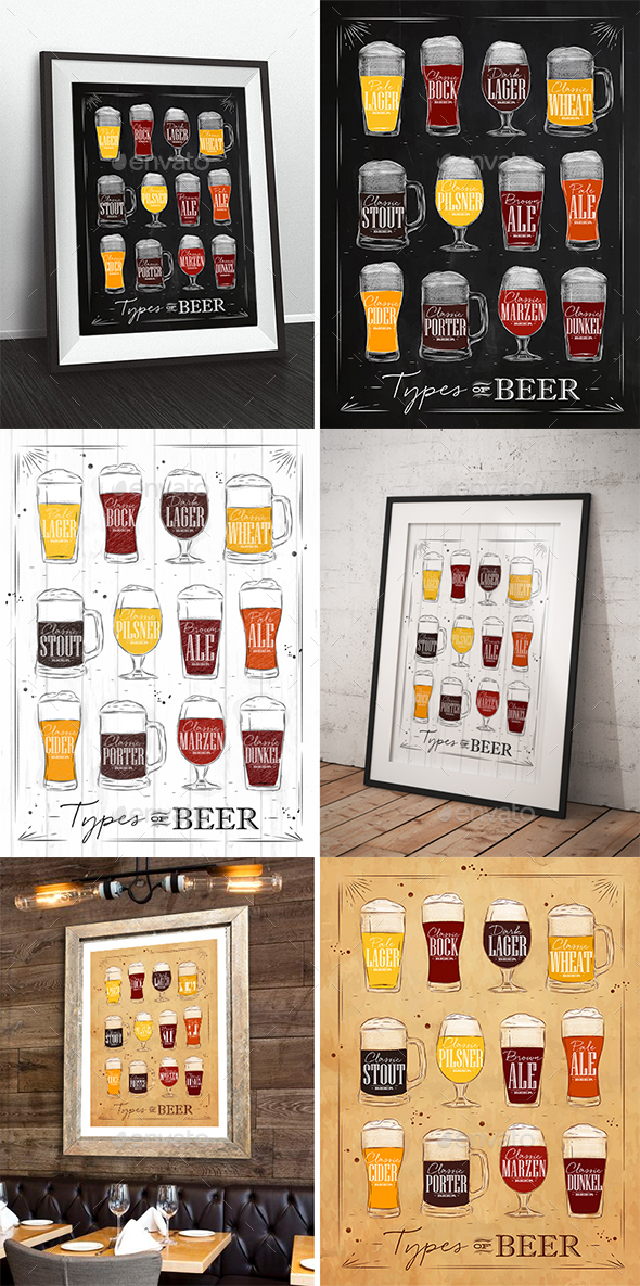 Beer Poster - Food Objects