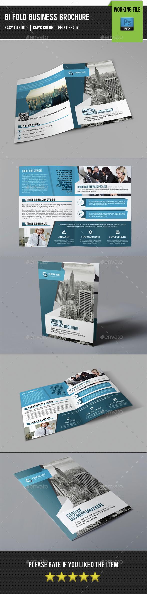 Corporate Bifold Brochure-V370 - Corporate Brochures