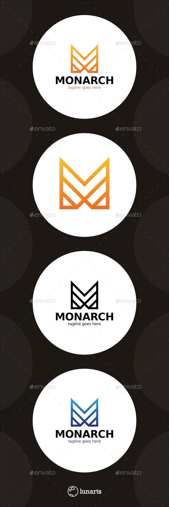 Monarch Logo - Letter M - Letters Logo Templates