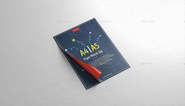 A4 / A5 Poster Flyer Mockup vol 3