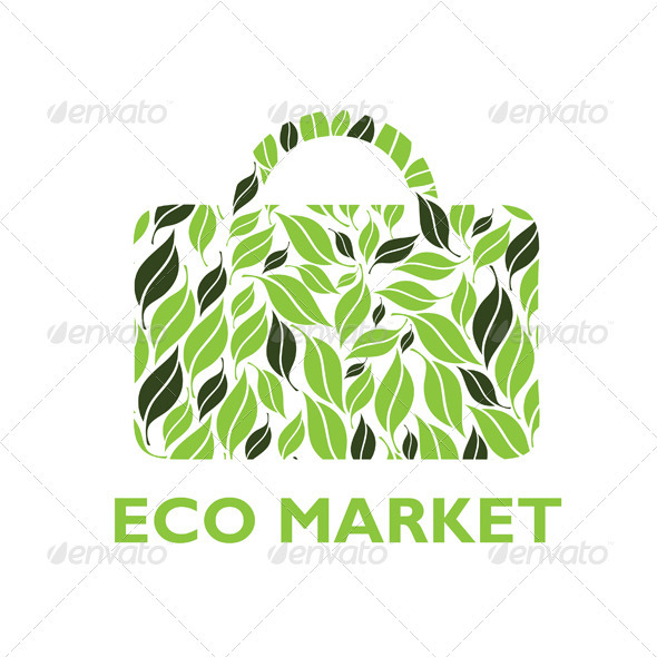Eco Market Logo - Nature Logo Templates