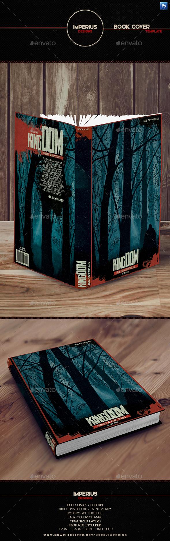 Kingdom Book Cover - Miscellaneous Print Templates
