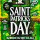 Saint Patricks Day Flyer Konnekt - GraphicRiver Item for Sale