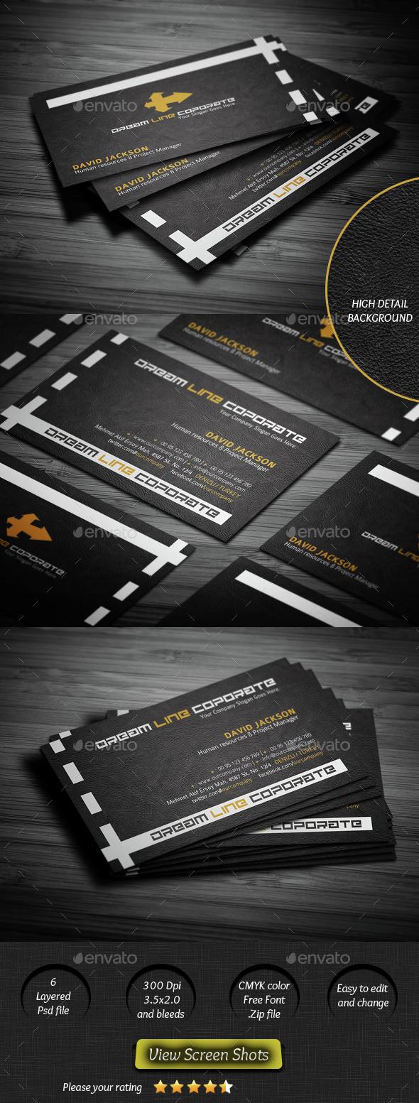 Dream Line Business Card - Creative Business Cards