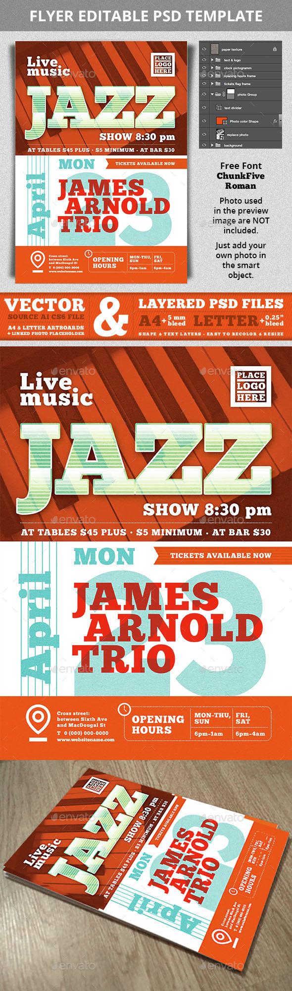 Jazz_Flyer - Concerts Events