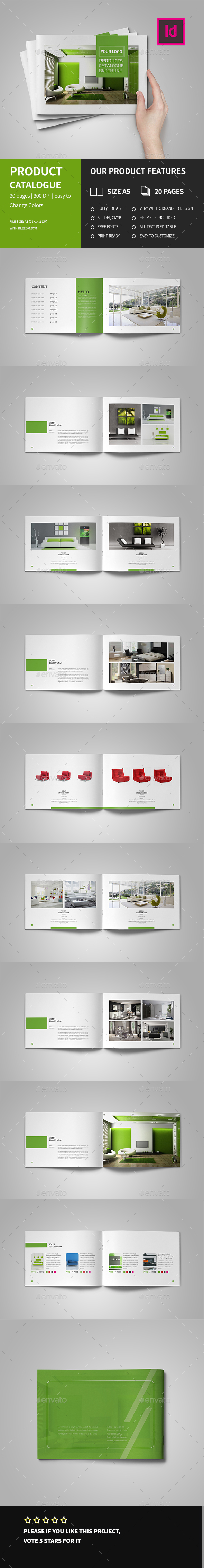 A5 Product Catalog Brochure - Catalogs Brochures