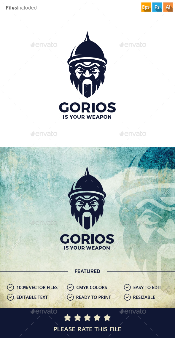 Warrior Logo - Humans Logo Templates