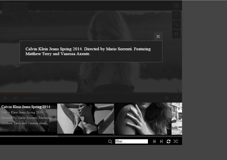 how to add youtube gallery to html5