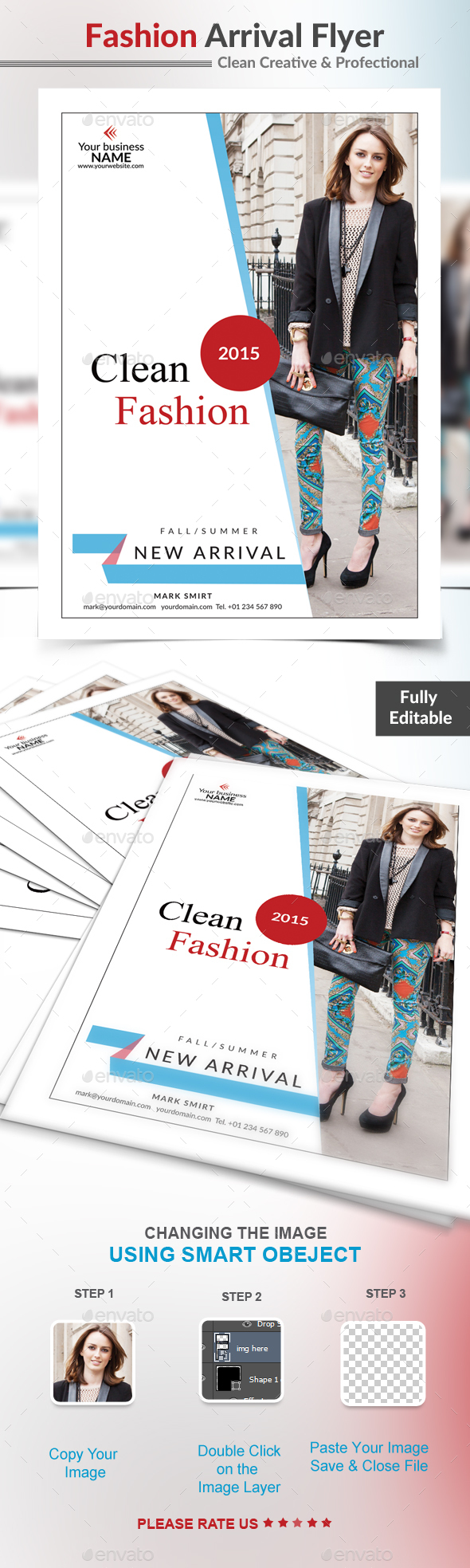 Fashion Arrival Flyer - Commerce Flyers