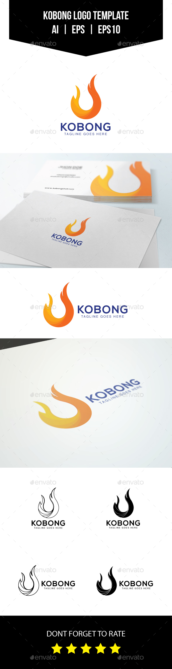 Fire Logo Template - Symbols Logo Templates