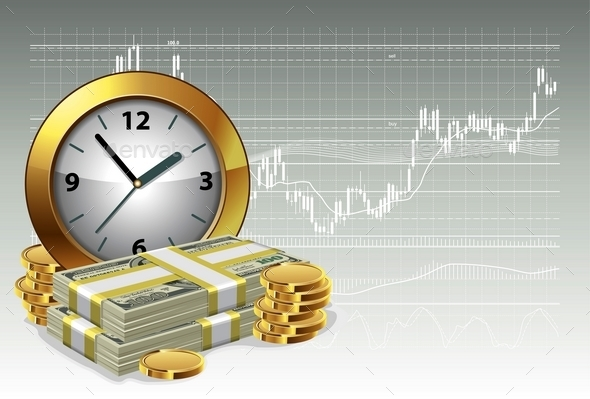 Time Is Money Concept - Concepts Business