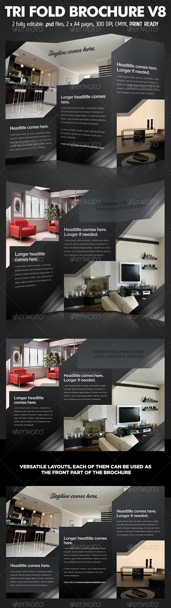 TriFold Brochure V8 - Corporate Brochures
