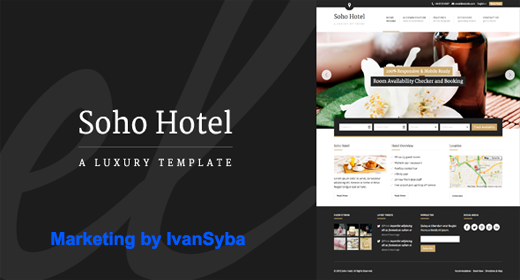 Hotel Restaurant Responsive Multi-Purpose Wordpress Theme
