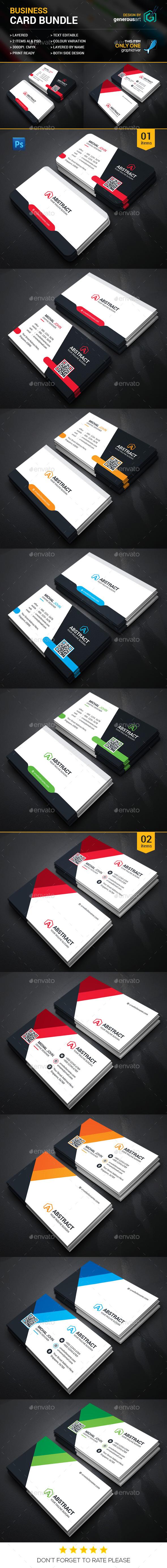 Smart Business Card Bundle - Corporate Business Cards