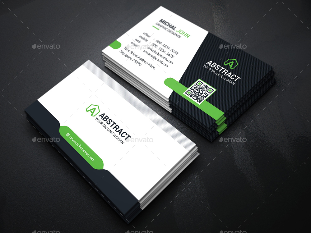 Smart Business Card Bundle By Generousart Graphicriver
