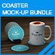 Coaster Mock-up Bundle - GraphicRiver Item for Sale