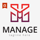Manage Logo Template - GraphicRiver Item for Sale
