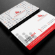 Red Corporate Business Card 01 - GraphicRiver Item for Sale